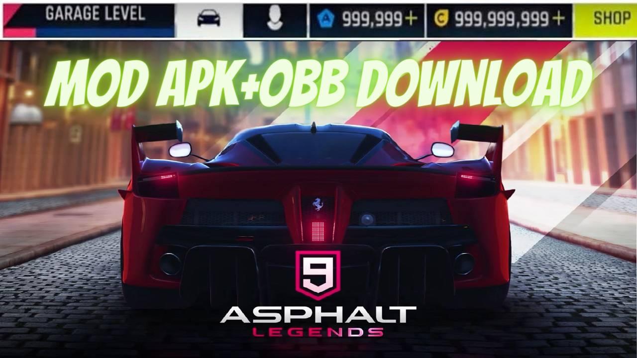 Asphalt 9 Legends MOD APK Unlocked Download