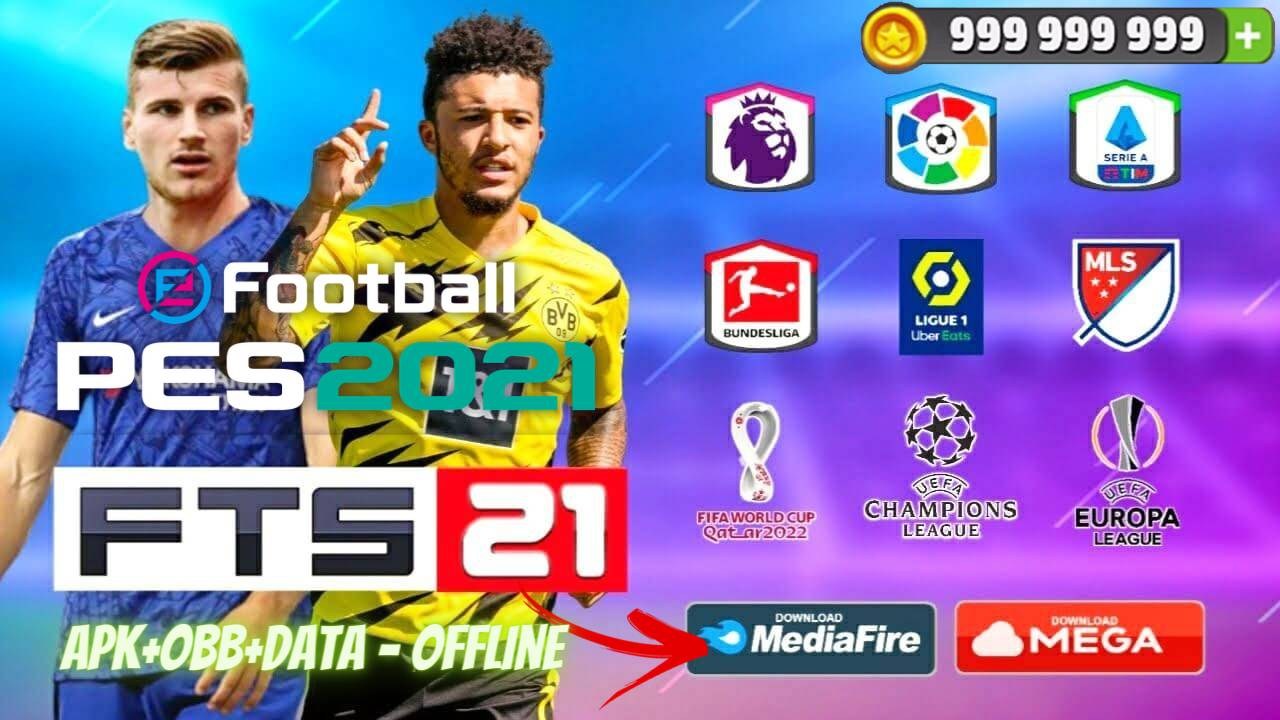 FTS 21 Mod PES 2021 Offline Android Download