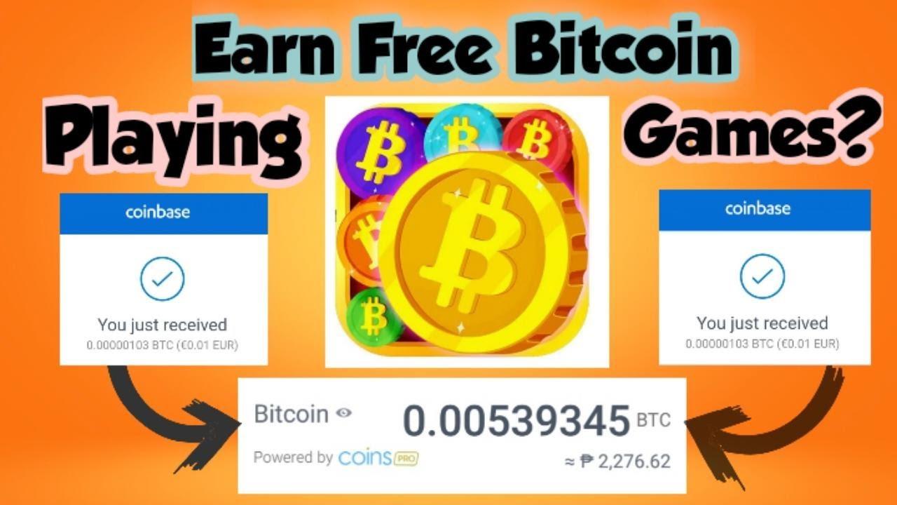 Earn Free Bitcoin BTC ETH to Play Games