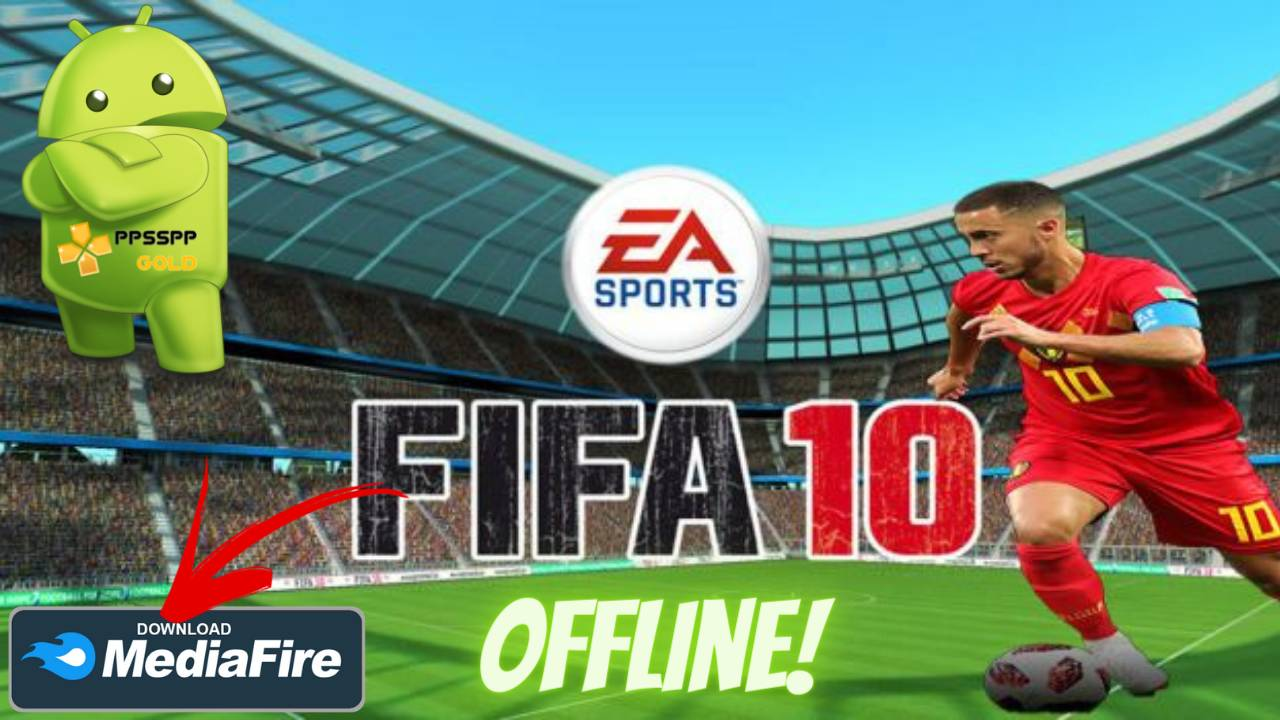 FIFA 10 Android Offline PPSSPP Download