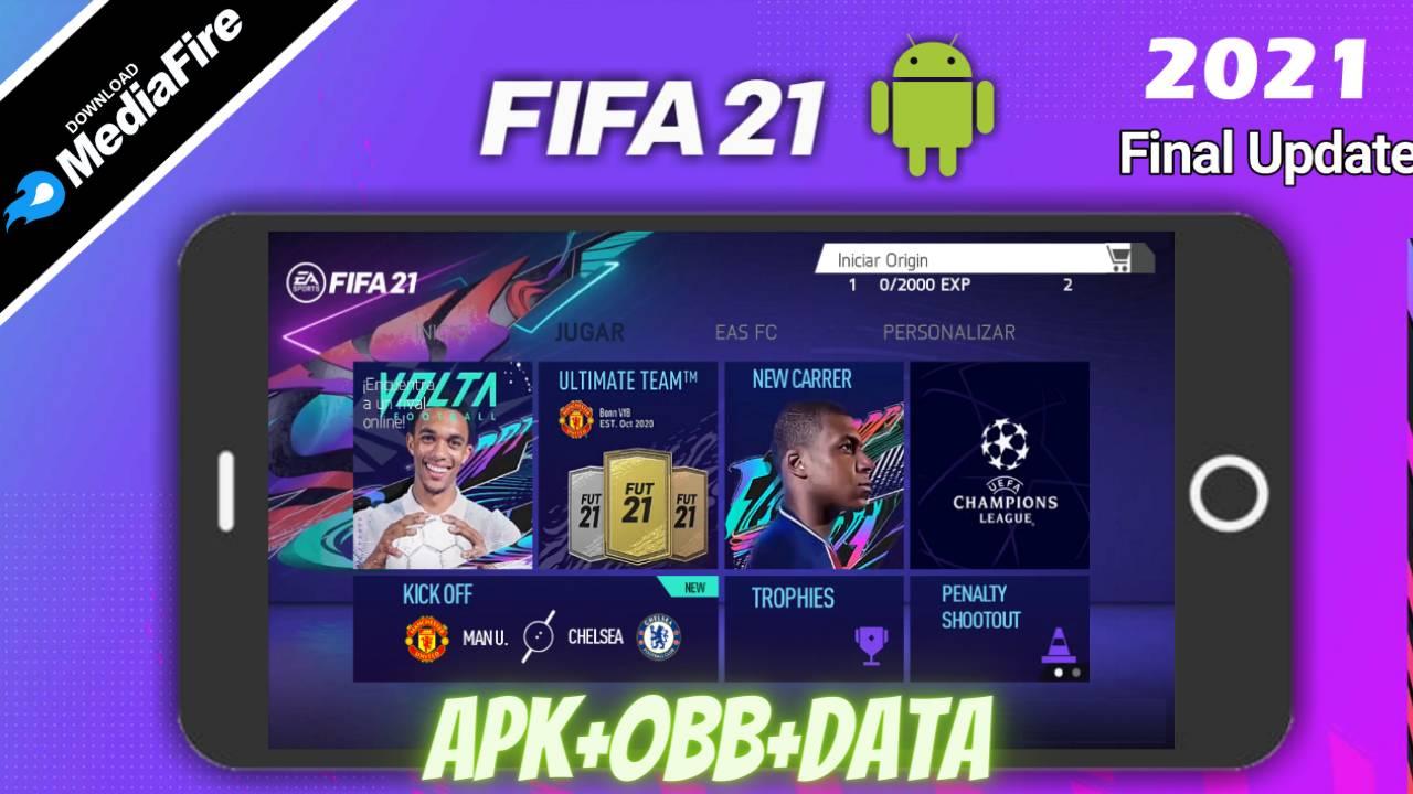 FIFA 21 APK Mod Volta 2021 Download