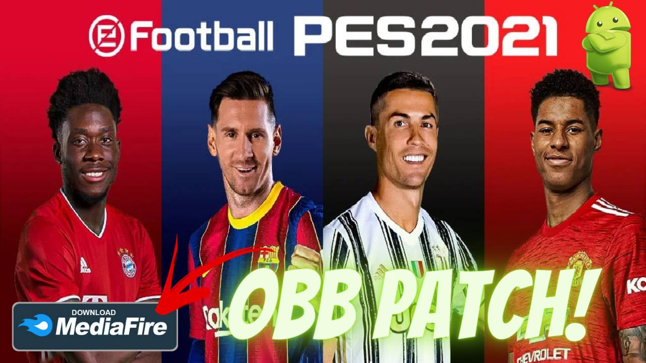 eFootball PES 2021 Android Graphics Patch Download