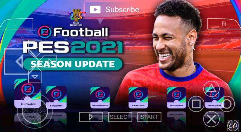 Download PES 2021 PPSSPP Camera PS5 Android Fix Update