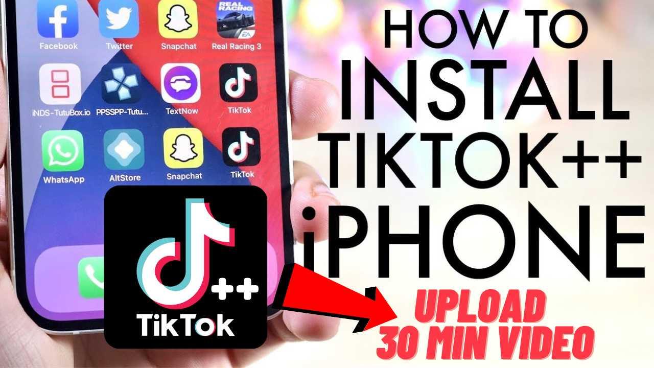 TikTok ++ iPA iPhone iOS Download