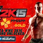 WWE 2K15 iSO PPSSPP Android Everything Unlocked Download
