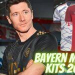 Bayern Munich Kits 2022 DLS 21 FTS