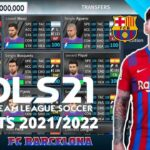 DLS 21 APK Mod Barcelona Kits 2022 Download
