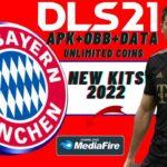 DLS 21 Mod Bayern Munich Kits 2022 Download