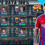DLS 21 Barcelona Save Data KITS 2022 Download