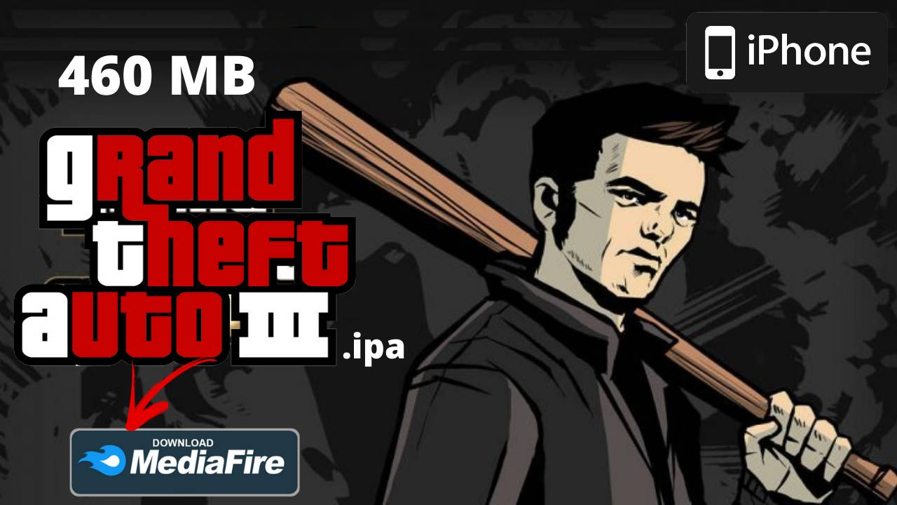 GTA 3 for iPhone Free Download