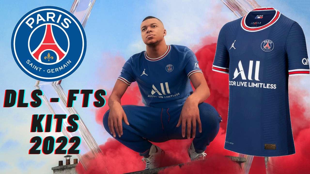 PSG Kits 2022 DLS 21 FTS Paris Saint Germain