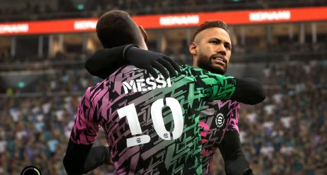 Download PES 2022 PPSSPP MESSI to PSG Android