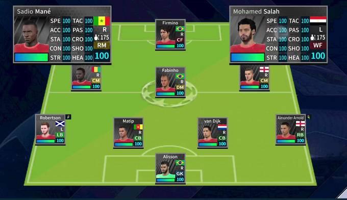 Liverpool DLS team 2022