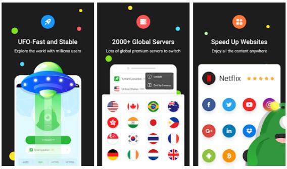 Ufo vpn apk mod download