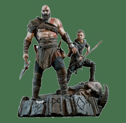 god of war 4 kratos atreus ares download
