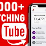 Free PayPal Money watching YouTube videos online
