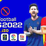 eFootball PES 2022 PPSSPP English Version Update Kits Faces Transfers Download